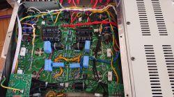 YAQIN ms 2a3 - Lampy mocy po lewej stroni świecą mocniej.