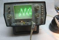 S1-118A - zniekształcona plamka przy krawędzi ekranu (na środku - ok)