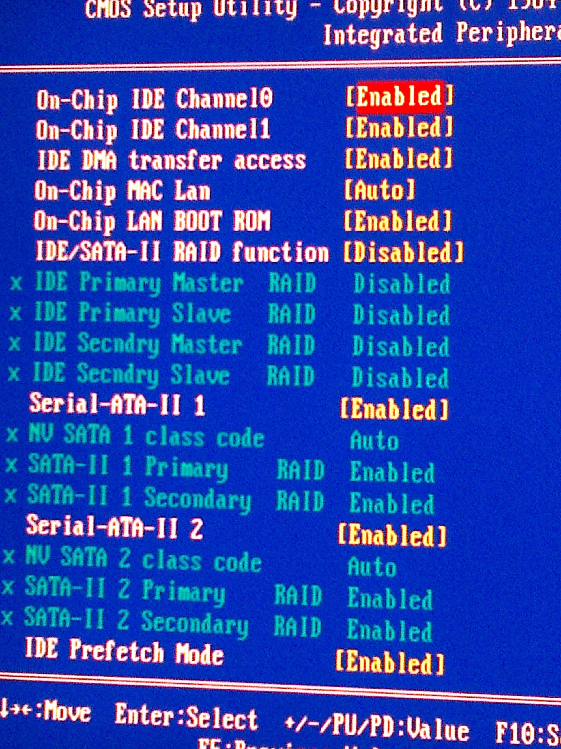 Gigabyte GA-K8NXP-9 - Brak dysku SATA w BIOS
