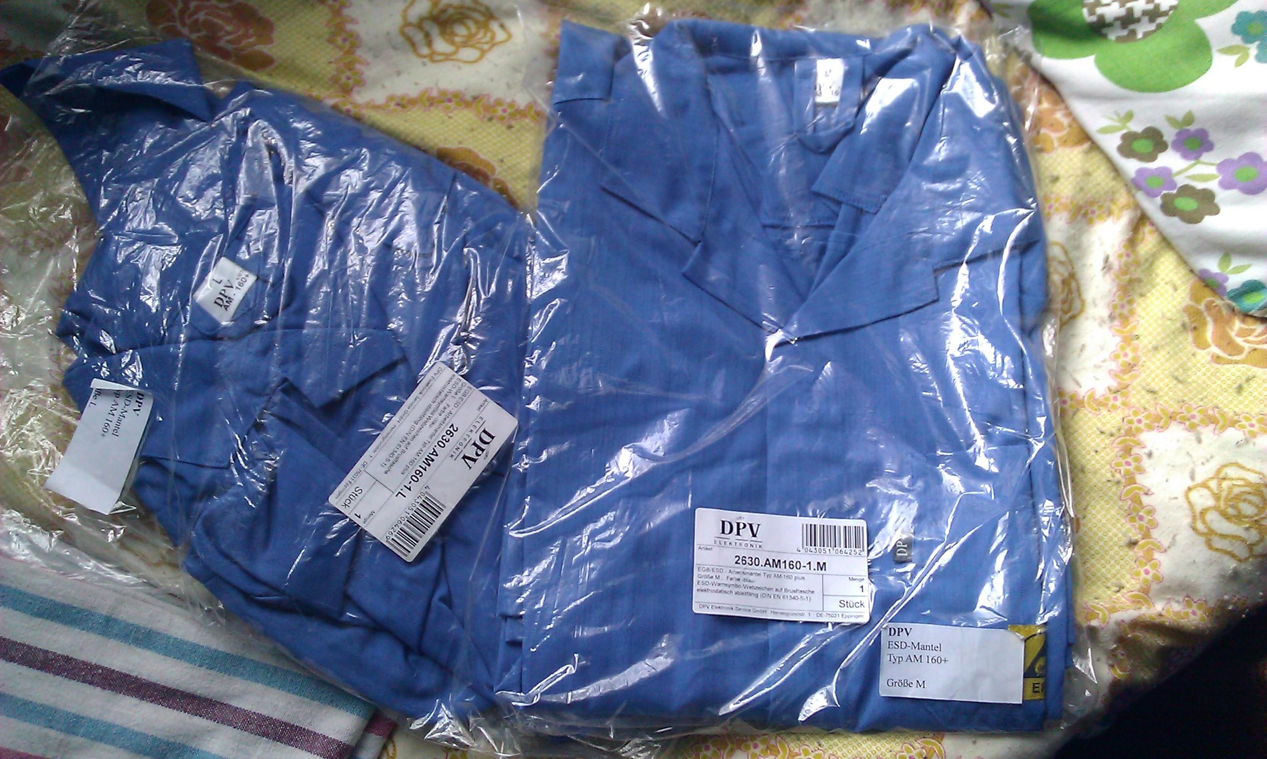 [Sprzedam] Nowe ubrania ESD dla elektronik�w