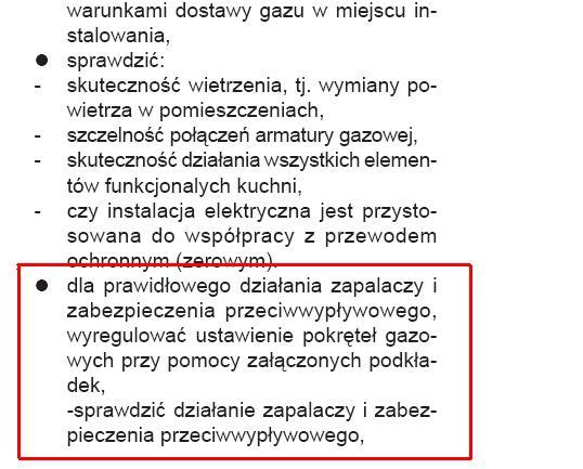 Amica kuchnia gazowo elektryczna 56GCE3 gaśnie płomień -> Kuchnia Gazowo Elektryczna Na Co Zwrócić Uwage