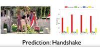 System przewidywania zachowa� ludzi na podstawie analizy wideo.