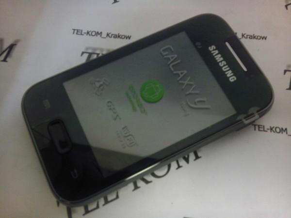 Szukam instrukcji obsługi do smartfona samsung galaxy y young gt-s