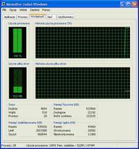 uruchamianie pc pod xp - procesor na 100 % zajety
