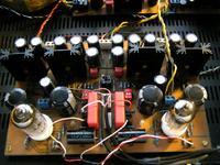 Wzmacniacz Słuchawkowy z buforem ECC88