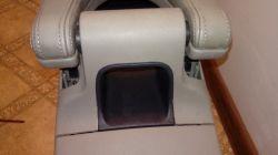 Grand Scenic 2 - naprawa demontaż gniadza zapaliniczki w podłokietniku