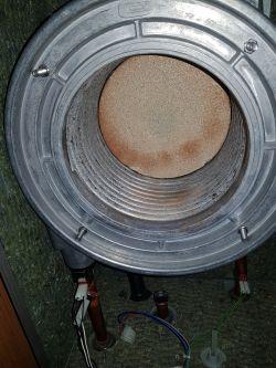 Termet Ecocondens- zjawisko wybuchowej pracy palnika.