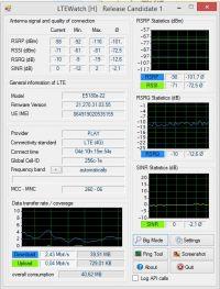 Huawei E5180s-22 - identyfikacja BTS - szybkość LTE Play