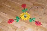 Żyrandol LED ze sklejki DIY