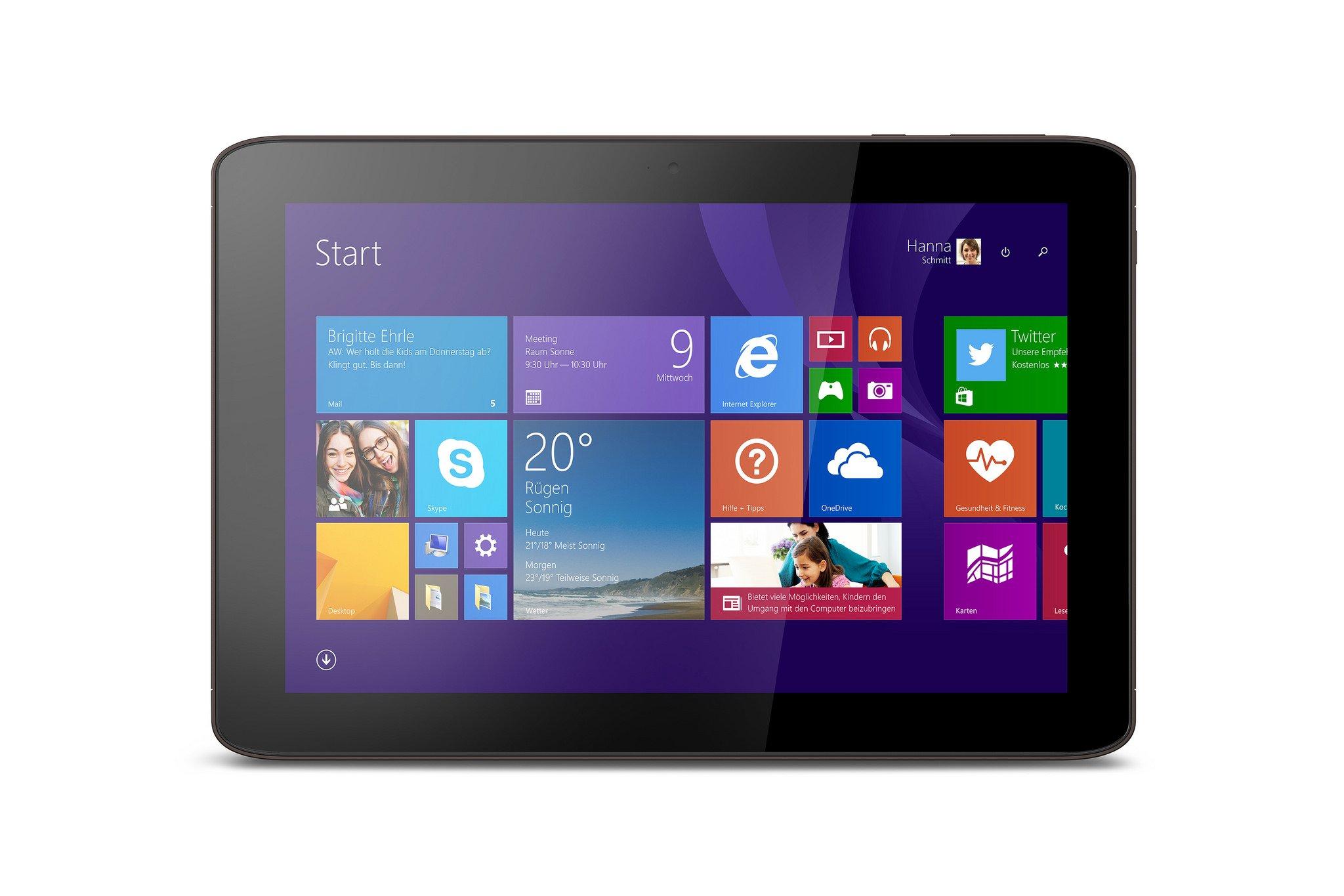 "Medion Akoya E1233T - tablet z 10,1"" ekranem, Atom i Windows 8.1"