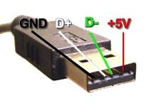 Zasilacz 12V -> 5V do napędu optycznego i urządzeń USB.