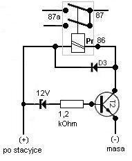 włącznik świateł - załączanie