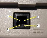 Laptop Compaq Armada 7370 złącze zasilania