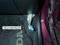 Honda Accord 1,6 16V 1999 gdzie jest złącze diagnostyczne