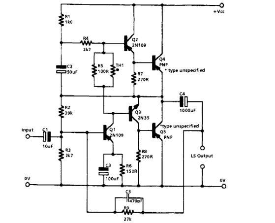 wzmacniacze tranzystorowe mocy