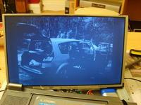 Portable dvd Logik LPD1001. Problem z matrycą- ciemny obraz