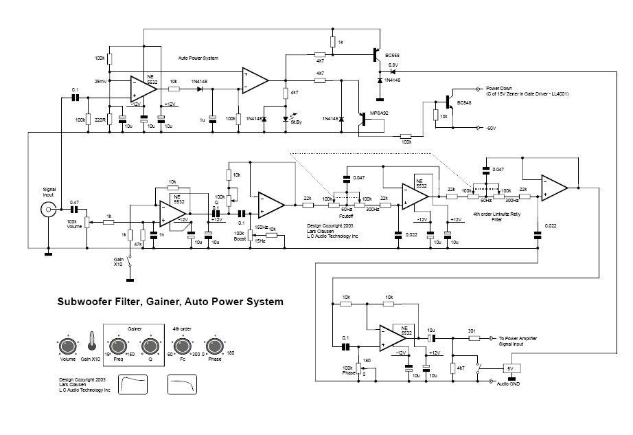 Aktywny filtr do subwoofera z płynną regulacją fazy i auto power. Pytanie