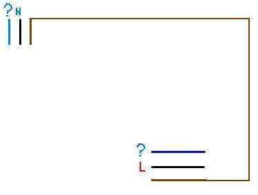 Podłączanie żyrandola (4 żarówki + 3 przewody)