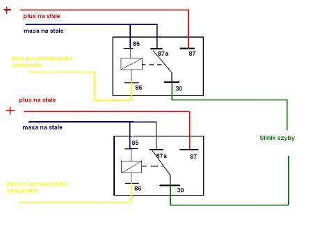 t5 elektryczne szyby, podnośniki, jak podłączyć?