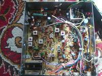 Radio CB Amstrad 901 z Anglii - szumi.