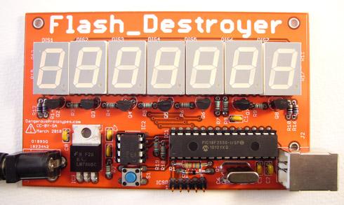 Urządzenie do testowania wytrzymałości pamięci EEPROM