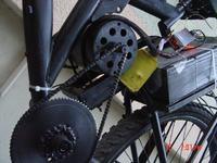 Rower elektryczny v2.0!-budowa