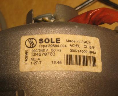 Zwarcie po włączeniu pralki Elektrolux EW 1110T