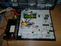 Płytka testowa by Krychol rc na ATtiny2313 i ATmega16/32