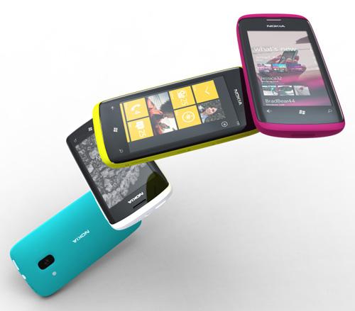 Nokia potwierdza telefony z Windows Phone 7
