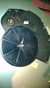 Unitra Bernard GS-460 - gramofon nie kręci, dioda zasilania świeci