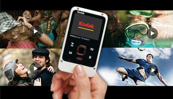 Kodak Playfull - wodoodporna kieszonkowa kamera 720p
