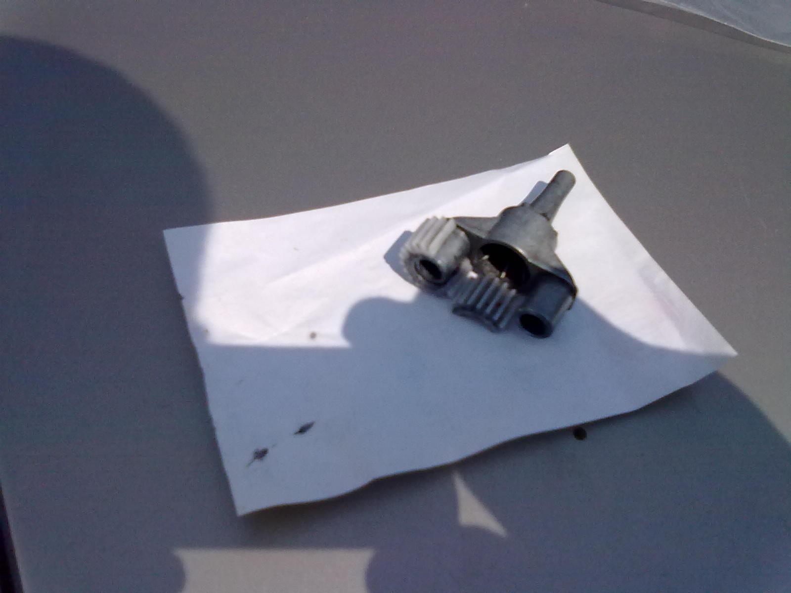 myjka K 2.300 nie produkuje ci�nienia, silnika el. sprawny, uszkodzone z�batki