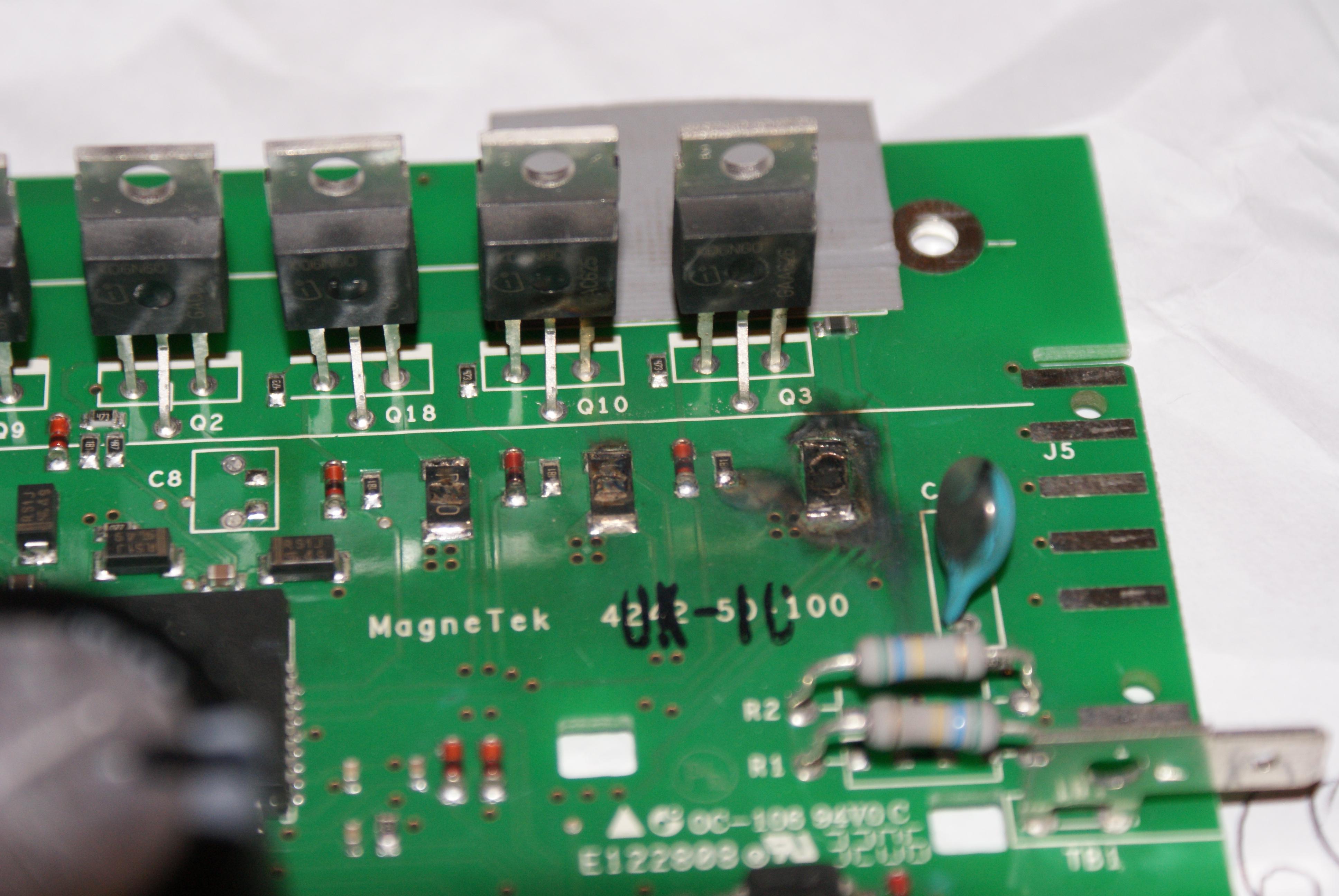 Pralka AEG Electrolux Lavamat 1820 uszkodzona elektronika silnika pralki