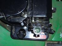 B&S 550 series 158cc - nierówna praca, falujące obroty