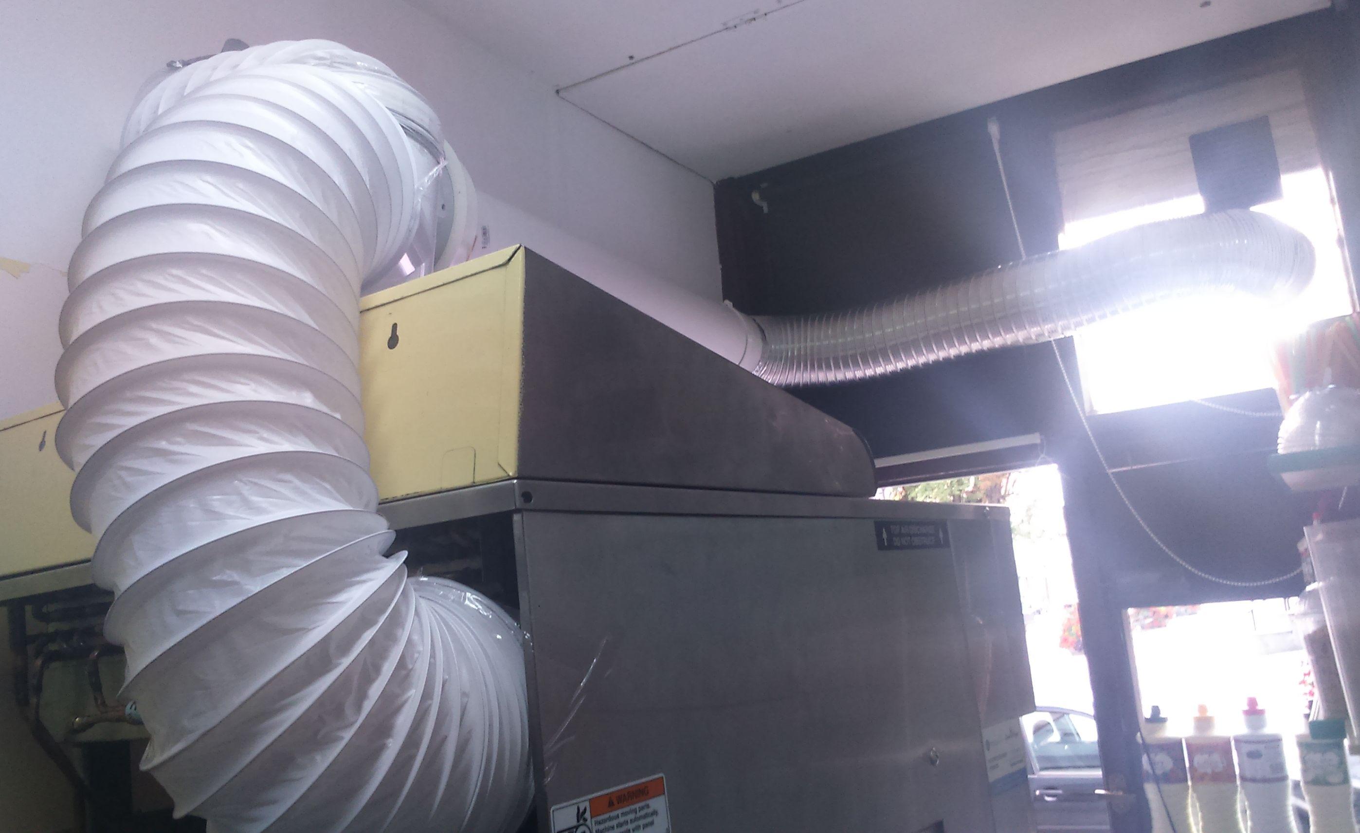 Poważnie Wyciąg powietrza z maszyny do lodów - elektroda.pl TX95