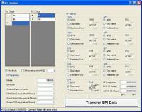 MCP23S17 - połączenie przez SPI-USB MCP2210