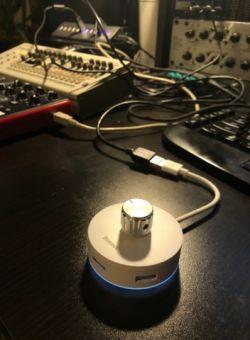 Precyzyjne sterowanie wirtualnymi suwakami i potencjometrami. Digispark Arduino