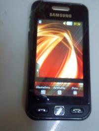 Samsung Avila Paski na wy�wietlaczu