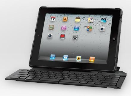 Klawiatura Logitech Fold-Up Keyboard i podpórka w jednym dla iPada 2