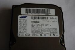 Dysk Samsung SV4002H - Uszkodzona elektrionika dysku