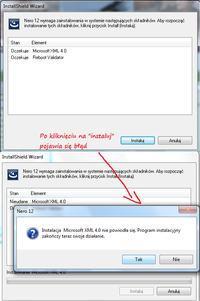 Instalator Windows na win 7 64bit msiexec.exe