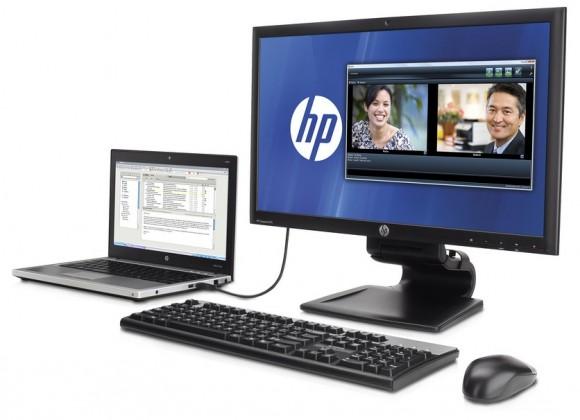 HP L2311c - 23-calowy monitor z transmisj� obrazu przez USB