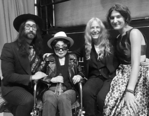 """The Beatles Polska: Wyobraź sobie, że Yoko napisała """"Imagine""""..."""