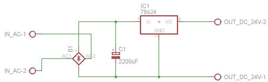 Prosty zasilacz 24V - dob�r radiatora