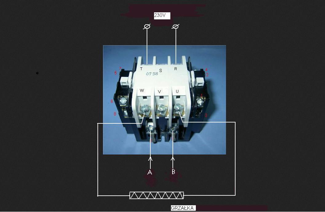 Polar PS663P BIO - Monta� stycznika TSM-1