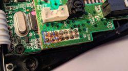 Kłopotliwe lutowanie pinów na płytce myszy