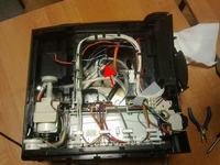 migające diody w ekspresie Bosch TES50129RW