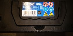 Exide battery - production year
