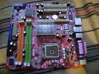 MSI G965M, wystrzelony kondensator, ci�g�y restart systemu.