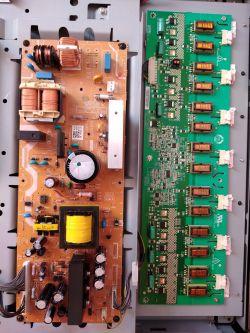 JVC LT-32A90BU - Po włączeniu pojawia się obraz na pare sekund i się wyłącza.